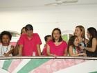 Claudia Rodrigues, Alcione, Renata Santos... Famosos curtem samba