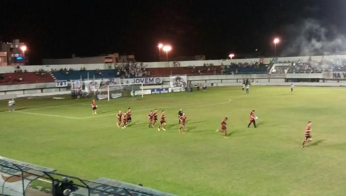 Campinense, Itabaiana, Etelvino Mendonça (Foto: Laís Rocha / TV Sergipe)