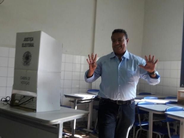 Ruiter Cunha de Oliveira, candidado do PSDB a prefeito em Corumbá (Foto: Michel Lorãn/TV Morena)