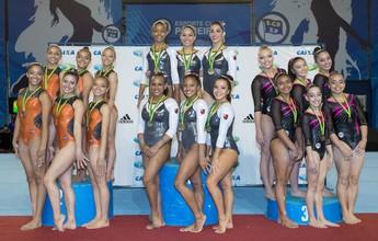 Flamengo é campeão brasileiro de ginástica artística feminino por equipes