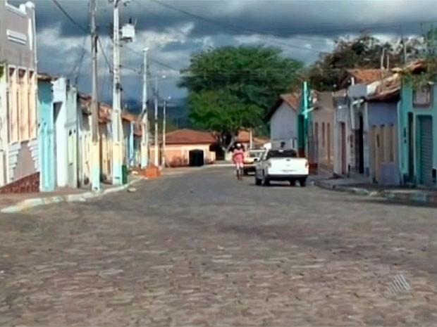 Itamaraju, no extremo sul da Bahia (Foto: Reprodução TV Bahia)