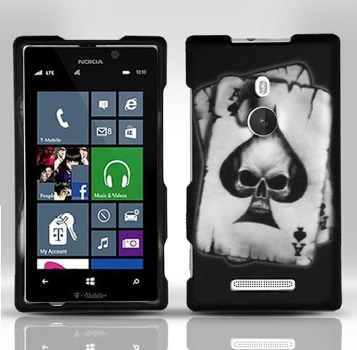 Capinha para Lumia 925 de caveira (Foto: Divulgação/Cell Case USA)