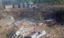 Enxurrada em cidade no Sul do Piauí destrói cemitério e arrasta cadáveres (Maria das Mercês Oliveira)