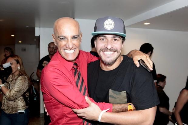Amin Khader e Thiago Martins (Foto: Isac Luz / EGO)