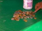 Vendedor comove redes sociais ao juntar R$ 1,8 mil em moedas