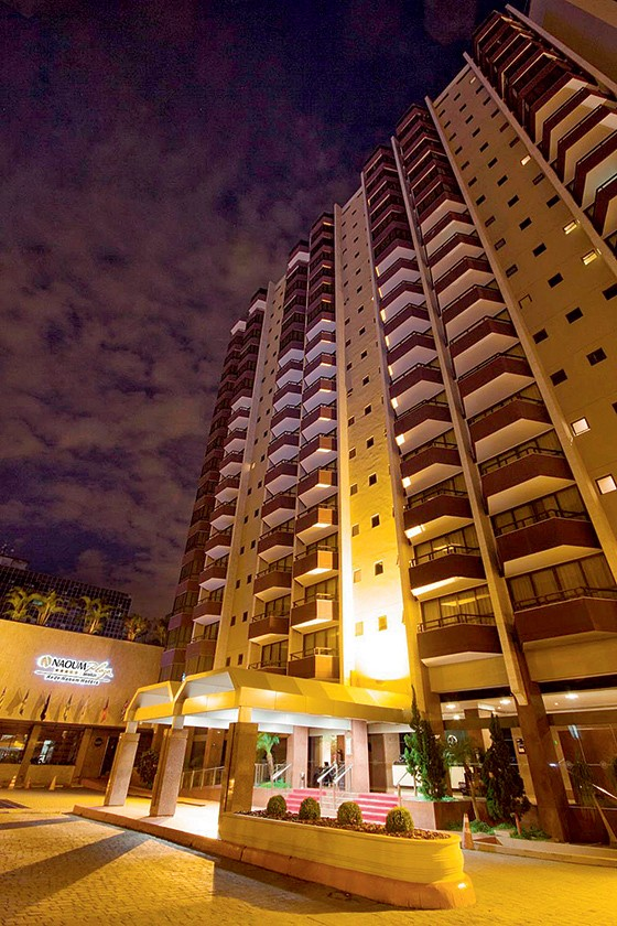 ESCRITÓRIO O hotel Naoum, em Brasília. Nele, Bumlai recebia parlamentares e acertava seus negócios com o governo nos tempos de Lula (Foto: reprodução)