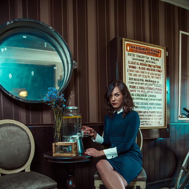 """A atriz transgênero Daniela Vega que interpreta a trans Marina em """"Uma Mulher Fantástica"""" (Foto: Divulgação)"""