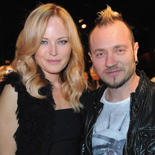O ator e músico italiano Roberto Zincone foi casado, de 2007 a 2013, com a atriz sueco-canadense Malin Åkerman. (Foto: Getty Images)