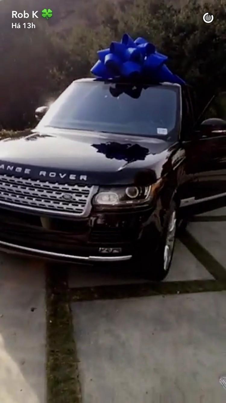 O novo carro de Rob Kardashian (Foto: Reprodução)