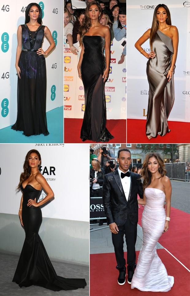 Os elegantes looks de gala de Nicole. (Foto: Getty Images)