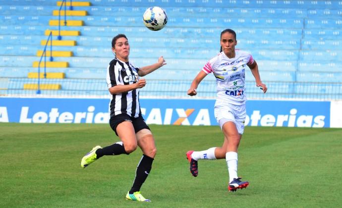 Gabi Zanotti Santos futebol feminino (Foto: Danilo Sardinha/GloboEsporte.com)
