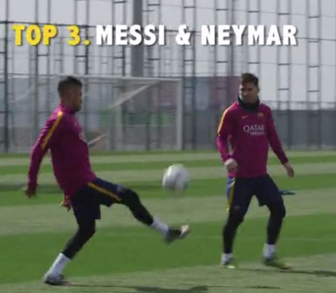 BLOG: Barcelona divulga vídeo com lances de treino e dá destaque para Messi e Neymar