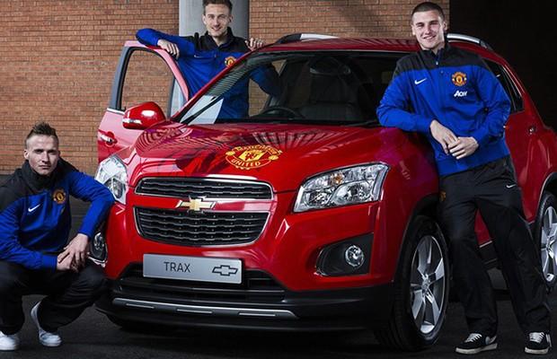 Chevrolet leiloa Traxx especial do Manchester United (Foto: Divulgação)