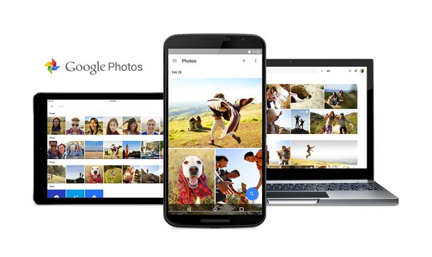 Google Photos, novo serviço de armazenamento de fotos e vídeos do Google. (Foto: Divulgação/Google)