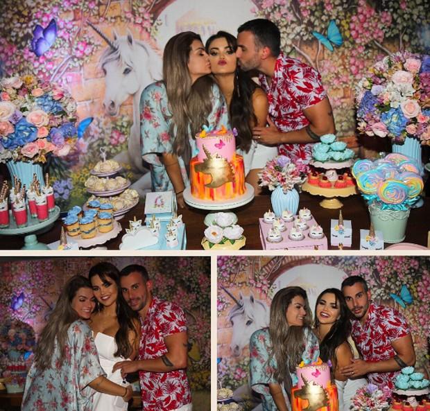 Kelly Key, Suzanna Freitas e Mico Freitas (Foto: Reprodução/Instagram)