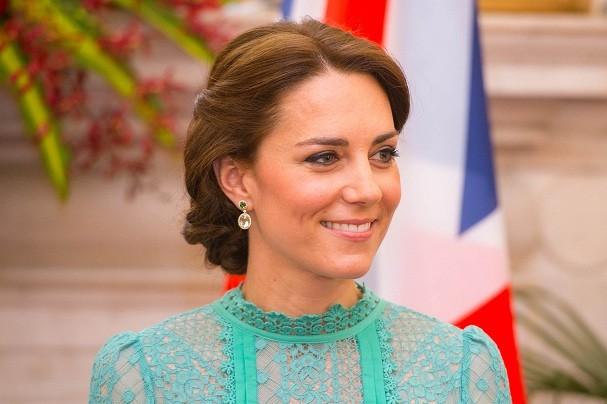 Kate Middleton durante viagem à Índia (Foto: Getty Images)
