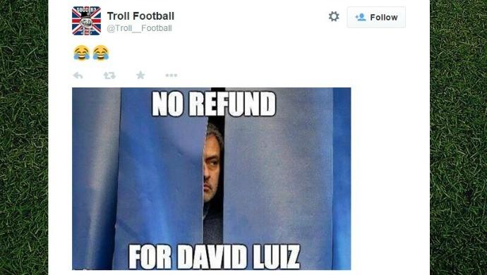 Zoações PSG x Barcelona - David Luiz