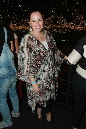Mariana Belém em show em São Paulo (Foto: Amauri Nehn/ Brazil News)