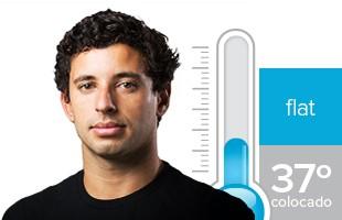 Alex Ribeiro termômetro Rio Pro (Foto: GloboEsporte.com)