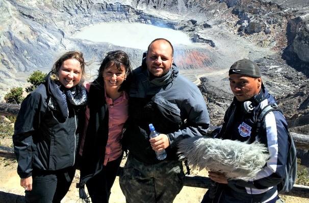 Equipe da RBS TV produz reportagem no Panamá e na Costa Rica (Foto: Divulgação/RBS TV)