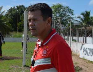 Jazon Vieira, técnico do Auto Esporte (Foto: Lucas Barros / GloboEsporte.com/pb)
