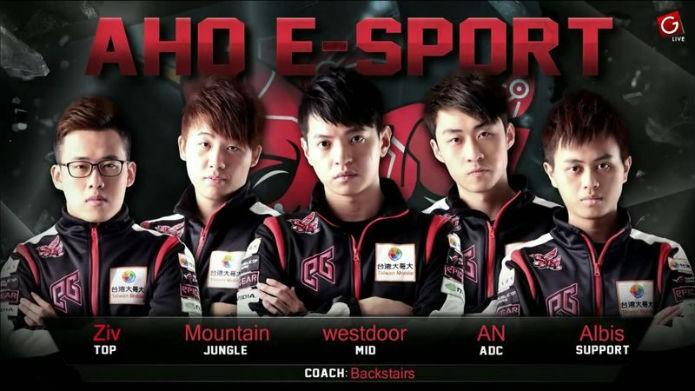 Os jogadores do time ahq e-Sports Club (Foto: Reprodução/Esportspedia)