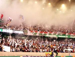 torcida Fluminense no Maracanã (Foto: Photocamera)
