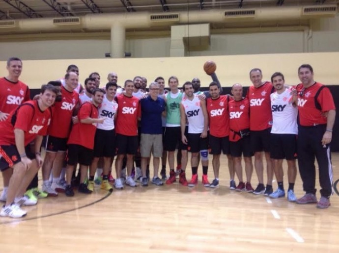 flamengo basquete bernardinho orlando eua (Foto: Divulgação / Flamengo)