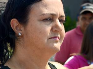 jaqueline Rodrigues é esposa do maratonista e organizou as buscas (Foto: Reprodução EPTV)