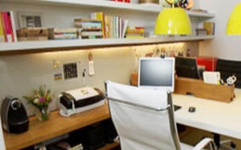 Home office: veja o antes e o depois da transformação do ambiente