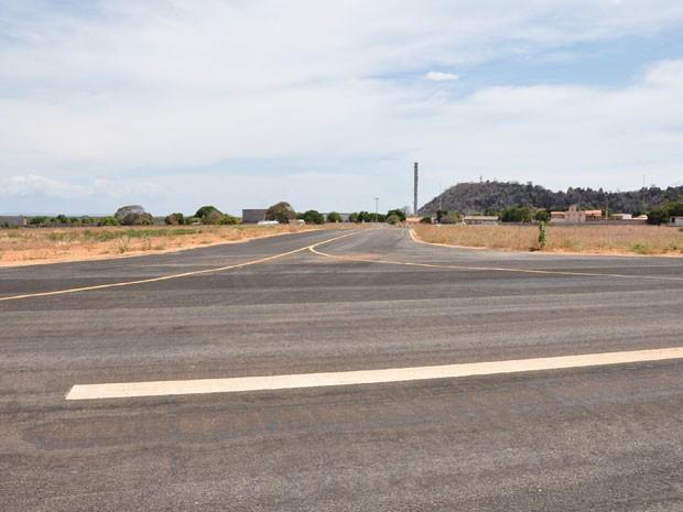 Aeroporto no Bom Jesus da Lapa, na Bahia (Foto: Divulgação/Prefeitura)