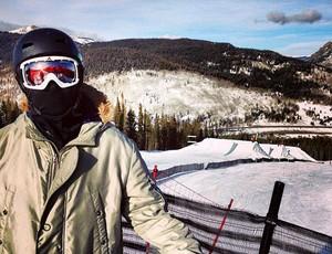 esqui slope Lucas Vianna no Colorado (Foto: HG Skis)