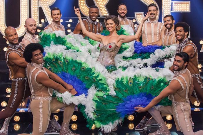 Fernanda Lima mostra look sexy no Amor e Sexo (Foto: Arthur Meninea/Gshow)