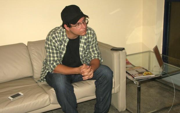 Ivan após ser eliminado do 'BBB13' (Foto: Léo Martinez/EGO)