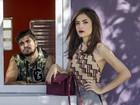 Maria Casadevall elogia parceria com Caio Castro na TV: 'Cumplicidade'