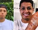 Chicharito publica imagem da mão fraturada e agradece o carinho dos fãs