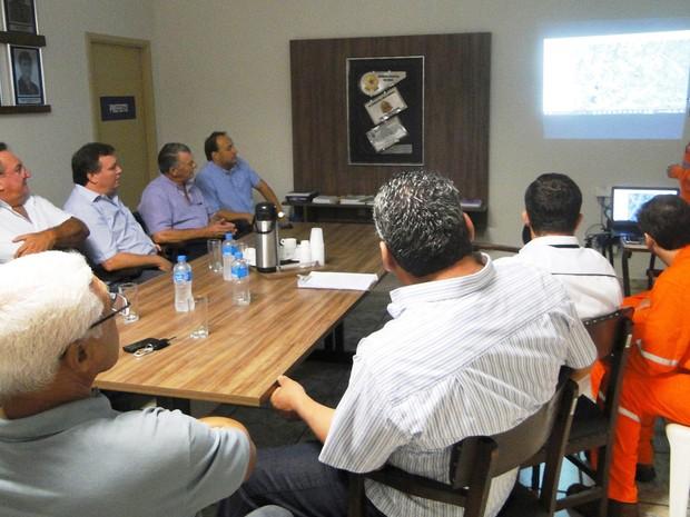 Estudo foi apresentado a prefeitos do Oeste Paulista durante reunião em Presidente Venceslau (Foto: Prefeitura de Presidente Venceslau/Divulgação)