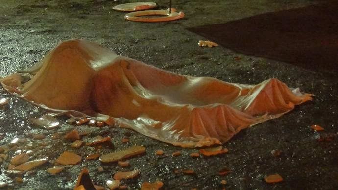 Torcedo morto no Arruda  (Foto: Thiago Augustto)