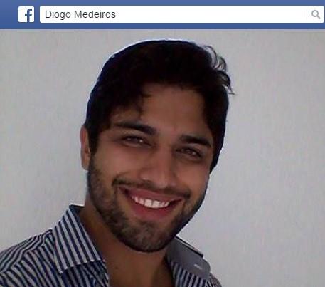 Diogo morreu após ser atingido no pescoço  (Foto: Reprodução/Facebook)