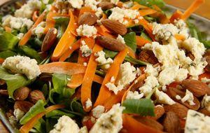 Salada de rúcula com amêndoas: receita da Carolina