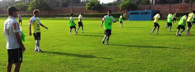 Milagres no treino do América-Sub 20 (Foto: Assessoria do América-MG)