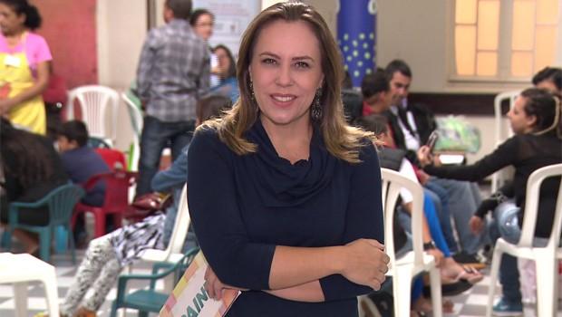 Adriana Milczevsky espera por você, neste sábado, para falar sobre doação de orgãos, doação de vida (Foto: Reprodução/RPC)
