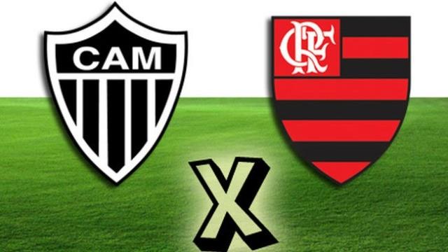 Atlético MG X Flamengo (Foto: Arte/ TV Liberal)