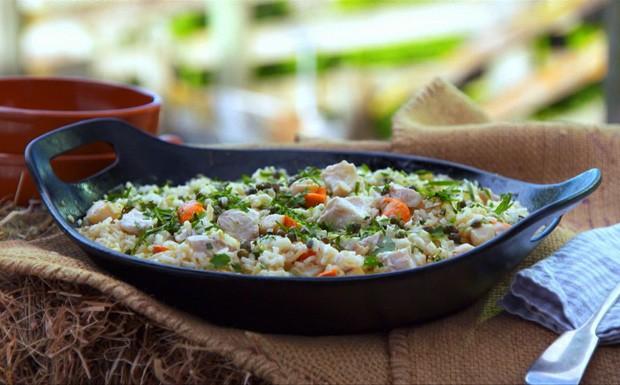 'A Cozinha Caseira de Annabel' - 3a Ep. 3 - risoto de frutos do mar  (Foto: Reproduo / GNT)