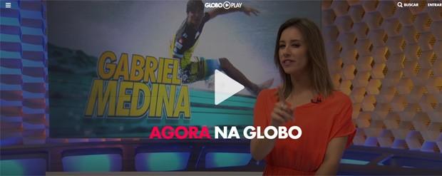 Globoplay é uma plataforma da Globo para assistir TV online (Foto: Reprodução/Globoplay)