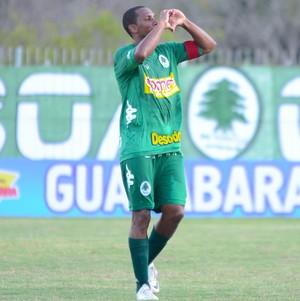 Gol de Anselmo, boavista 1 x 1 Cabofriense (Foto: Léo Borges / Na Jogada)