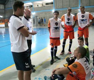 Bauru Futsal, treino (Foto: Rafael Peloso / A.A. FIB)