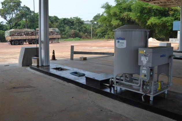Posto de gasolinda é roubado em Paraíso do Tocantins (Foto: Ademir Rego/Surgiu)
