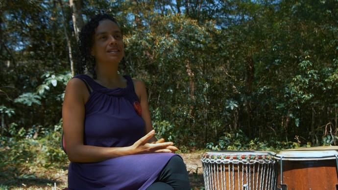 A colombiana Isabel Cardona: 'Já dormi na rua, já passei fome'  (Foto: TV Bahia)