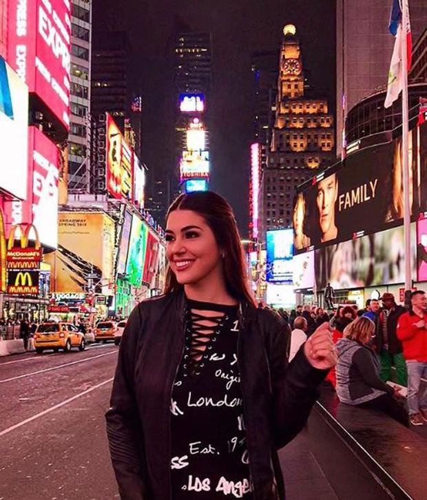 Vivian Amorim em Nova York (Foto: Reprodução/Instagram)